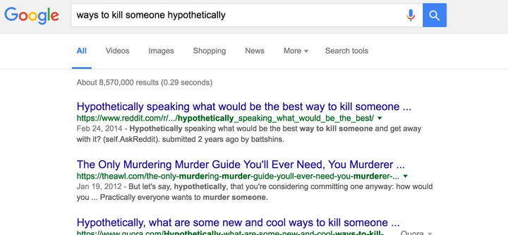 Ruin Your Google Search History With One Click Using This Website