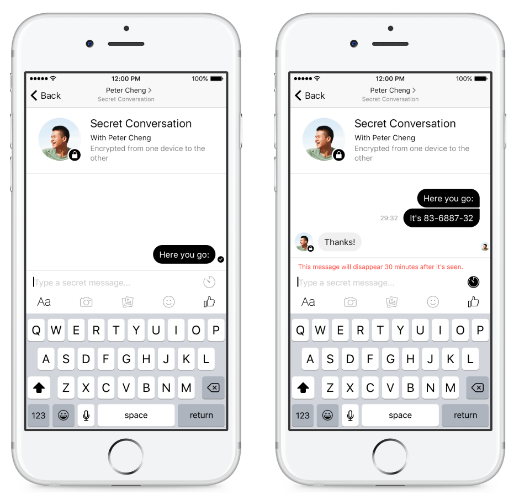 Facebook adds option for encrypted chats