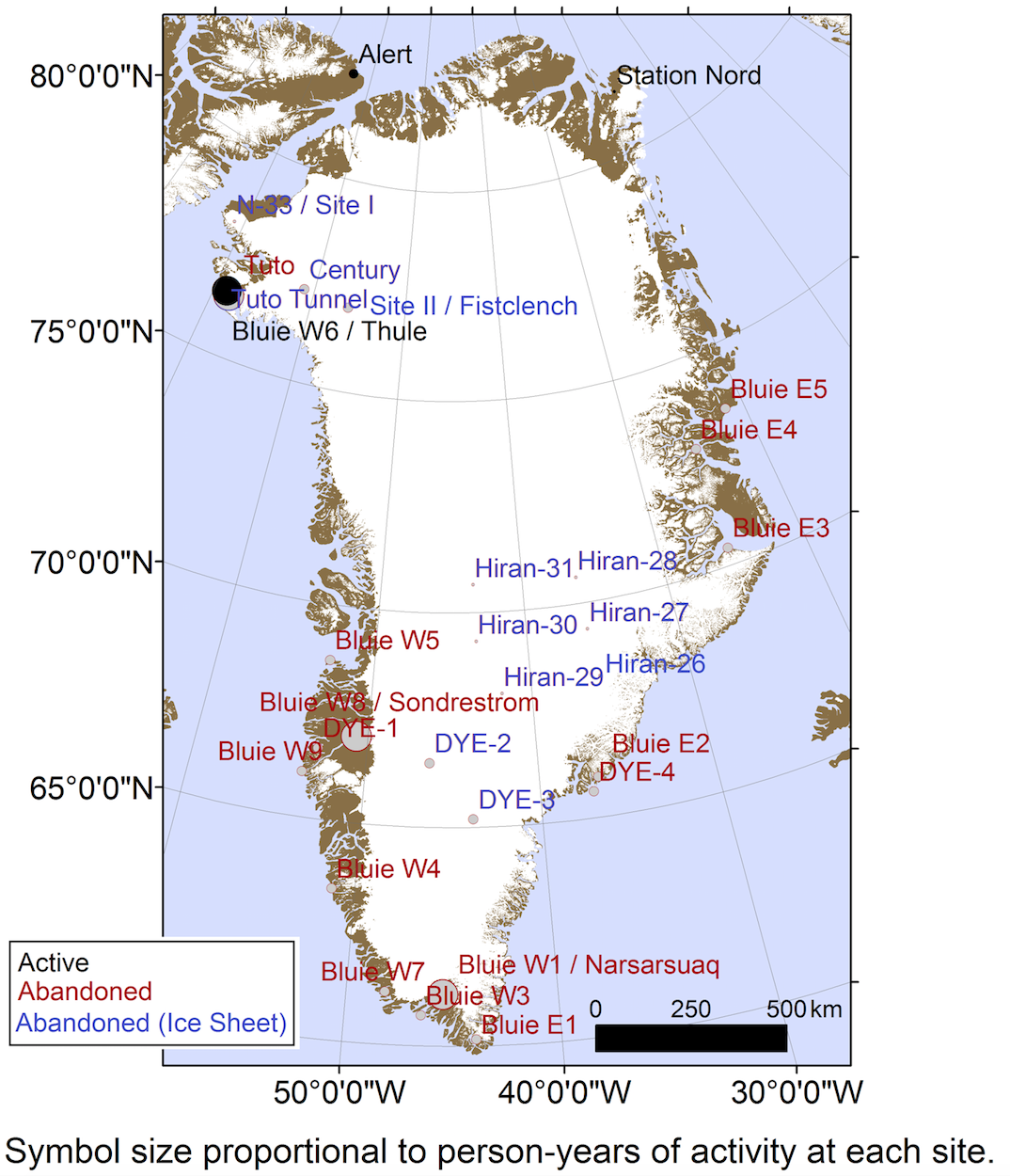 A Map Of Military Bases In Greenland Image William Colgan