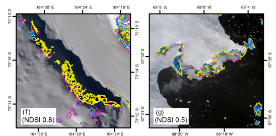 New Map Shows Only A Tiny Sliver Of Antarctica Is IceFreeFor Now - Satellite map of antarctica