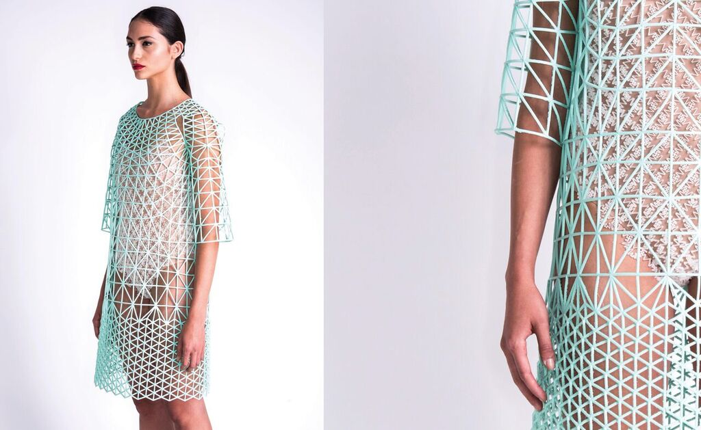 3d Printed Clothes Are Hitting The Runway And Then Your