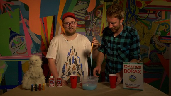 Motherboard TV: Making Slime With Dan Deacon