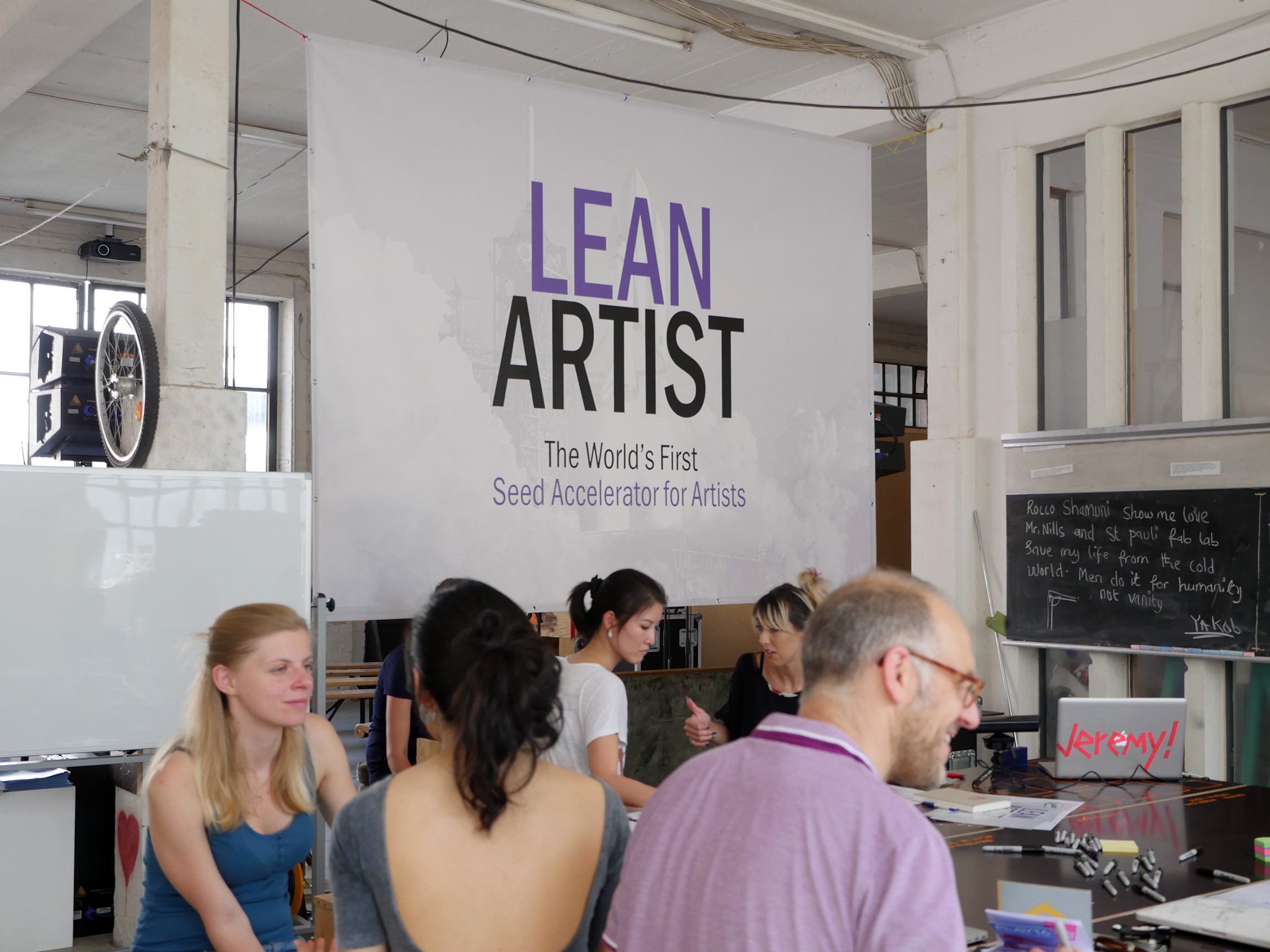 Len Design Hamburg a silicon valley like startup accelerator but for artists motherboard