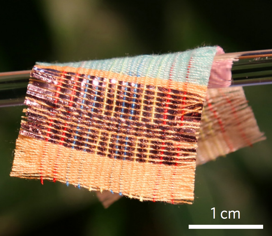 "New ""Smart Fabric"" Collects Energy from the Sun, Wind"