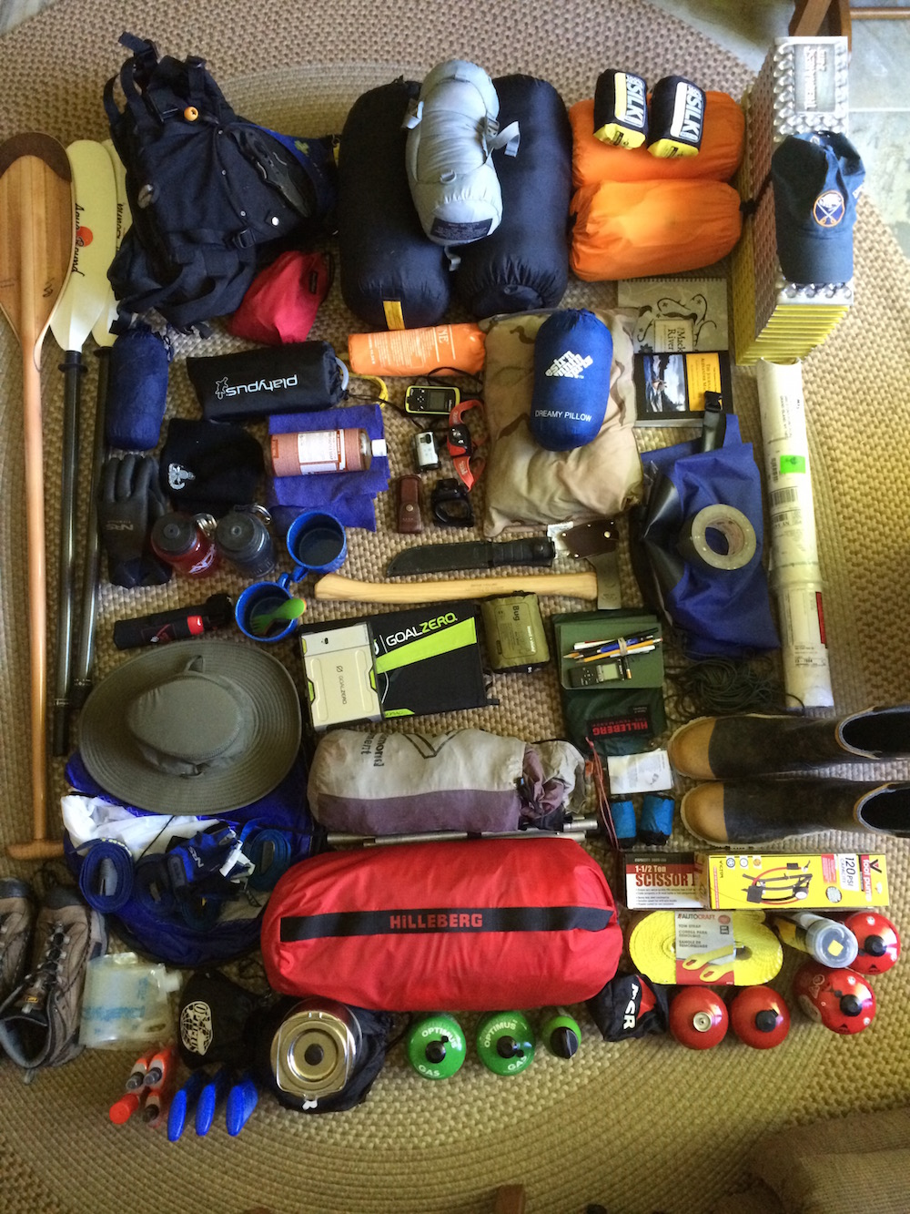 Everything I Brought With Me on a 1,200-Mile River Canoe Trip
