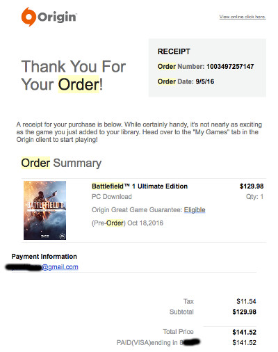 Pre-Ordering 'Battlefield 1' for $150 Is a Bad Idea But I Did It