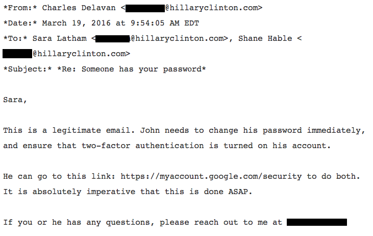 Emails show how Clinton campaign chair was apparently hacked