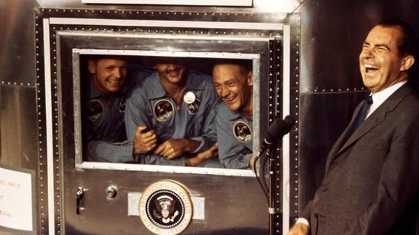 The Apollo 12 Crew Spent Thanksgiving in Quarantine for Fear of Moon Disease