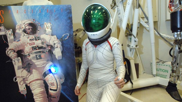 Sleek, Smart Spacesuits Are on the Horizon