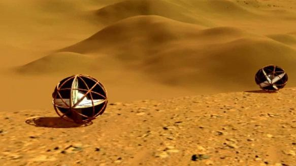 NASA Wants to Send Tumbleweeds to Mars