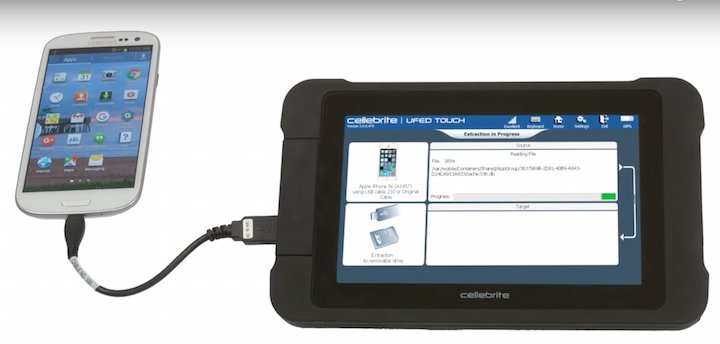 Cellebrite digital forensics tools leaked online by a