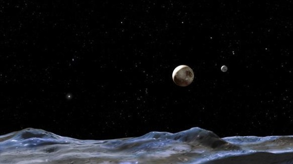 A New Moon for Pluto, a New Hazard for Spacecraft