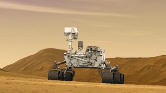 Opportunity Is Close to Finishing the First Martian Marathon