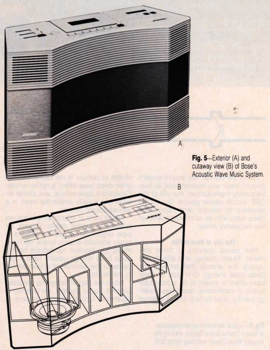 The Story of the Bose Wave, the Stereo System Built for the