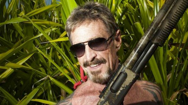 John McAfee Is a Pretty Entertaining Blogger
