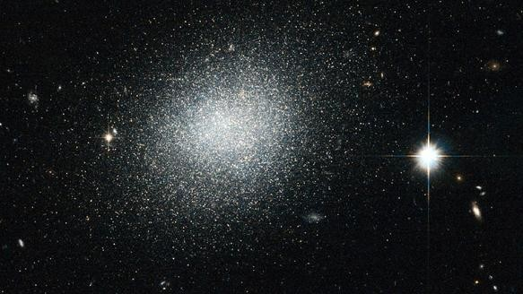 NASA, In Possible Homage to The Cure, Says Galaxy Looks 'Like Salt Sprinkled on Black Velvet'