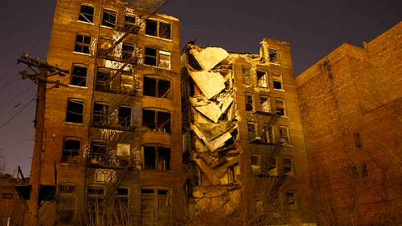 Total Progressive Collapse: Why Buildings Sometimes Crumble