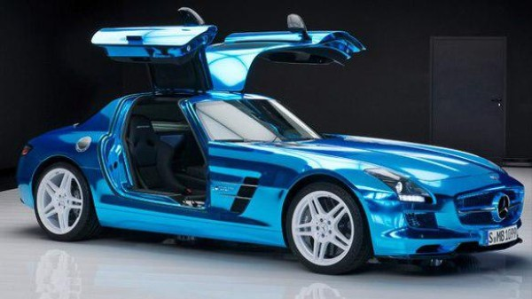 Mercedes' 2014 Electric SLS Comes With an Imagination