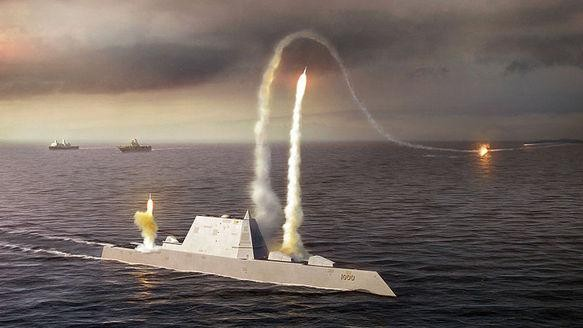 The Navy's New Super Warship Looks Like a Tiny Fishing Boat on Radar