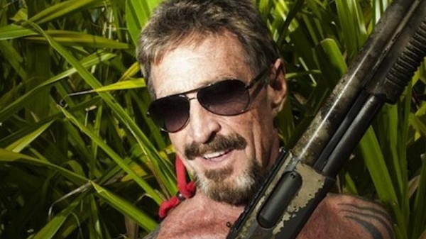 Against All Odds, John McAfee Is a Terrible Spy