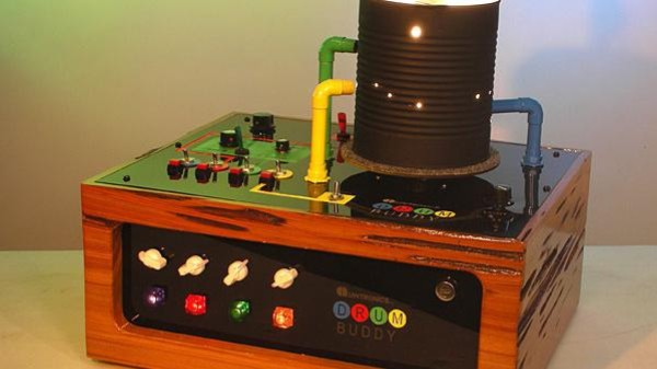'Mardi Gras in a Can': Consider the Drum Buddy, the Mysterious Light-Powered Synth