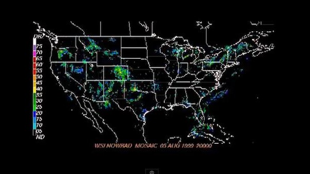 Just a 14-Year Timelapse of US Weather Data Scored by Beethoven