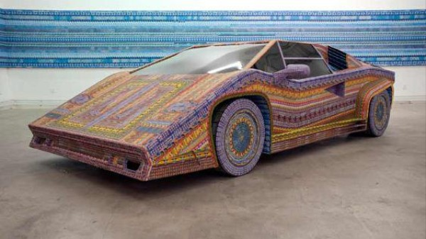 Art Talk: Turning Dead Lottery Tickets Into Lamborghinis