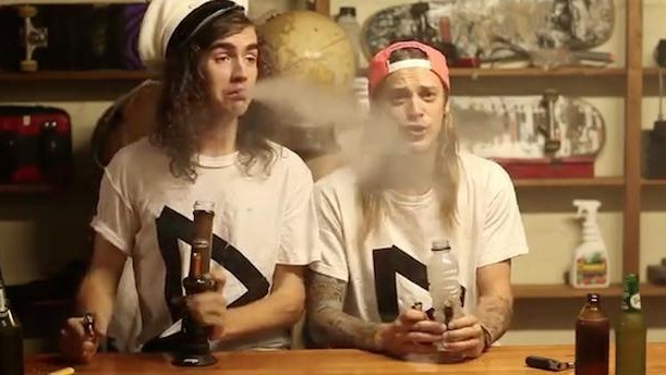 Watch Dune Rats Smoke Heroic Amounts of Marijuana in Under Three Minutes