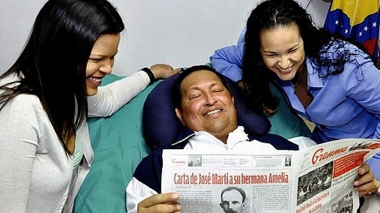 The Curious Communist Product Placement in the Photos That Prove Hugo Chavez Isn't Dead