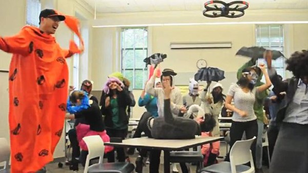 A Drone Attacking Innocent Americans (Harlem Shake Version)