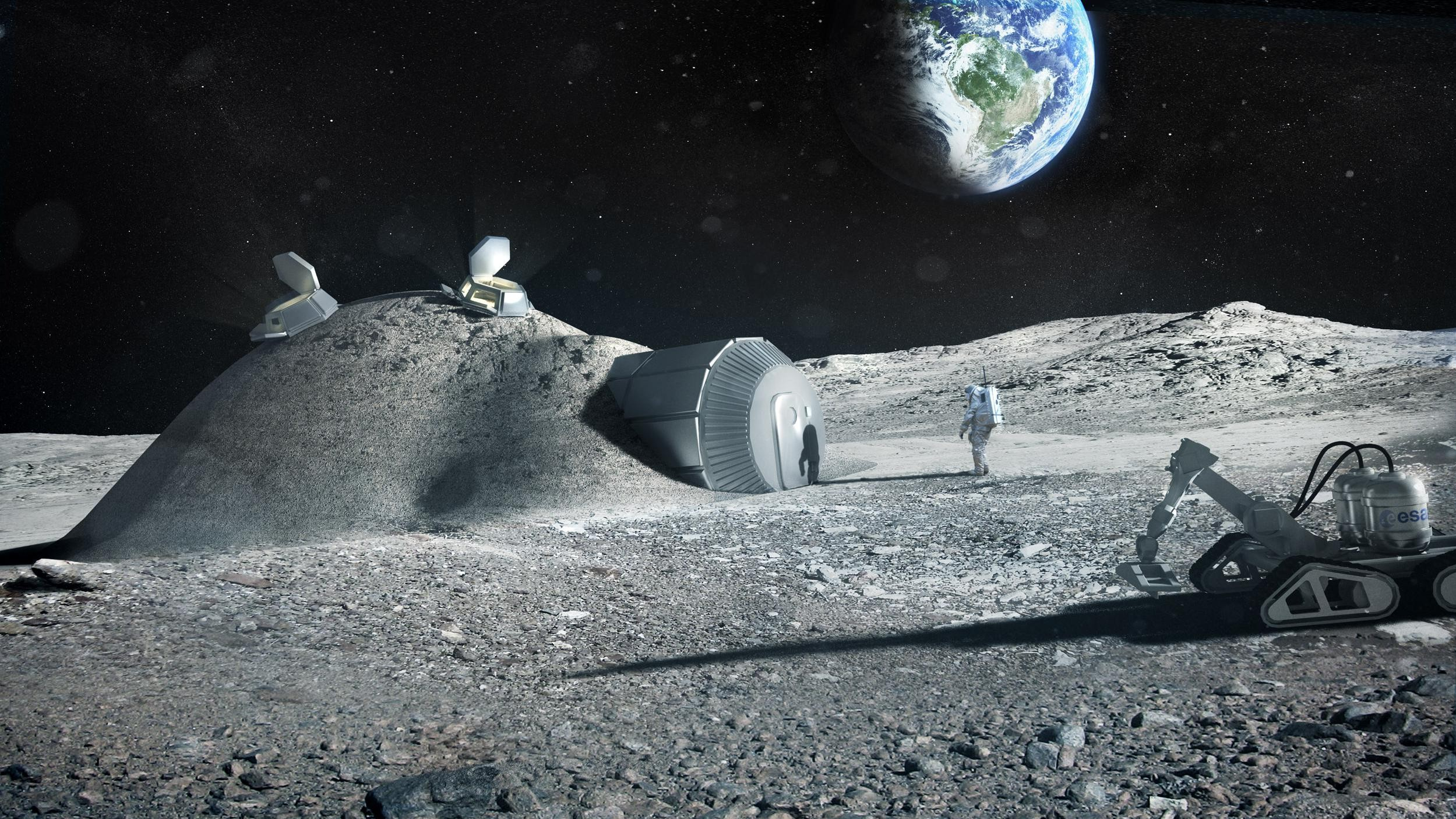 We Can 3D Print Anything, Including Moon Habitats