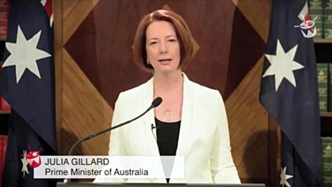 Australia's Prime Minister Warns Her Nation of  Zombies, Hell-beasts, and Impending Apocalypse