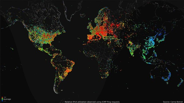 This Is the Most Detailed Picture of the Internet Ever (and Making it Was Very Illegal)