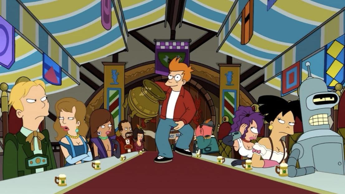 It's Time to Die, Futurama
