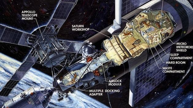 Skylab, NASA's First Space Station, Was Nearly a Disaster