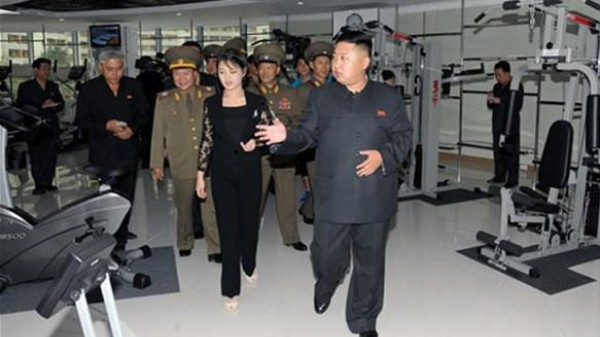 Rotund Kim Jong-Un Gives Fitness Advice In Giant New Super-Gym