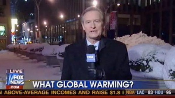 The Mystery of Fox News' Earnest and Scientifically Accurate Report on Global Warming