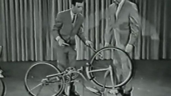 Frank Zappa Made Electronic Music with a Bicycle on Live TV in 1963