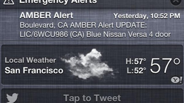 Where the Emergency Alerts on Your Phone Come From