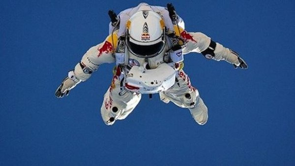 The Space Jump Will Be Delay-Streamed, In the Event That This Crazy Skydiver Gets Ripped Apart