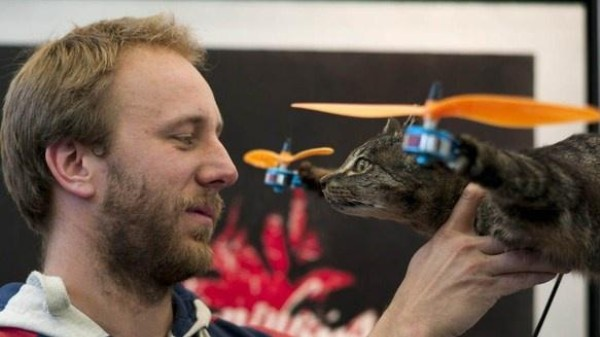 Why Hate the Catcopter? Drones Are the Real Flying Death