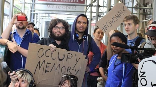 The Occupy Wall Street Walking Tour