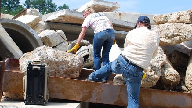 NASA's New FINDER Scans for Breathing Bodies in Disaster Rubble