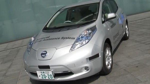 Nissan's Autonomous Car Is Road Legal in Japan