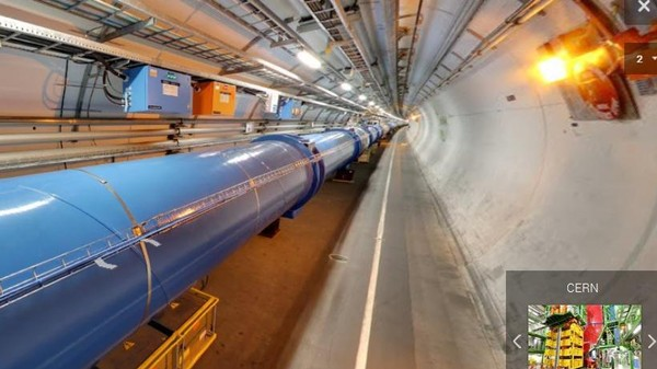 The Large Hadron Collider Is on Google Street View