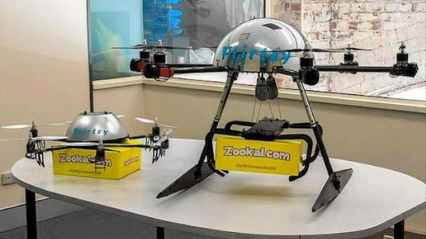Australia's New Drone Delivery Service Will Fly You... Textbooks