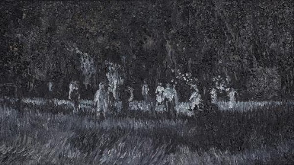 Impressionist Paintings of Famous Zombie Films: The Apocalypse, Abstracted