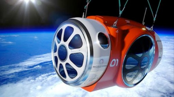 This Is What a Balloon Ride to the Edge Of Space Could Look Like
