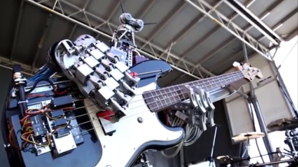 Good News: There's a Robo-Rock Band Race Going On