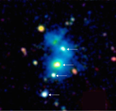 Four Quasars in One Nebula: Scientists Find an Incredible Astronomical First